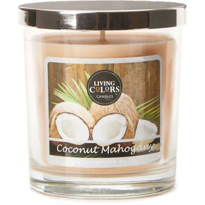 Living Colors Candles WM scented candle 5 oz 141 g - Coconut Mahogany