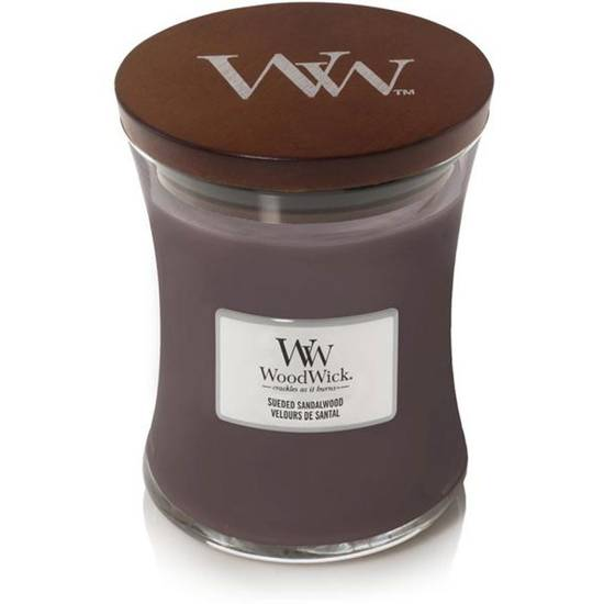 WoodWick Core Medium Scented Candle with a Wooden Wick 9.7 oz 275 g - Sueded Sandalwood