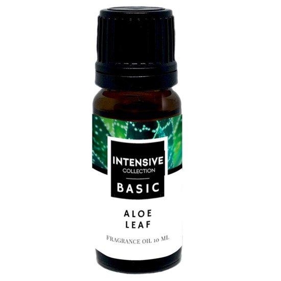 Intensive Collection Amber Basic fragrance oil in natural glass bottle 10 ml - Aloe Leaf