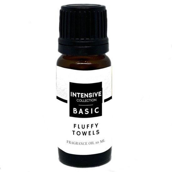 Intensive Collection Amber Basic fragrance oil in natural glass bottle 10 ml - Fluffy Towels