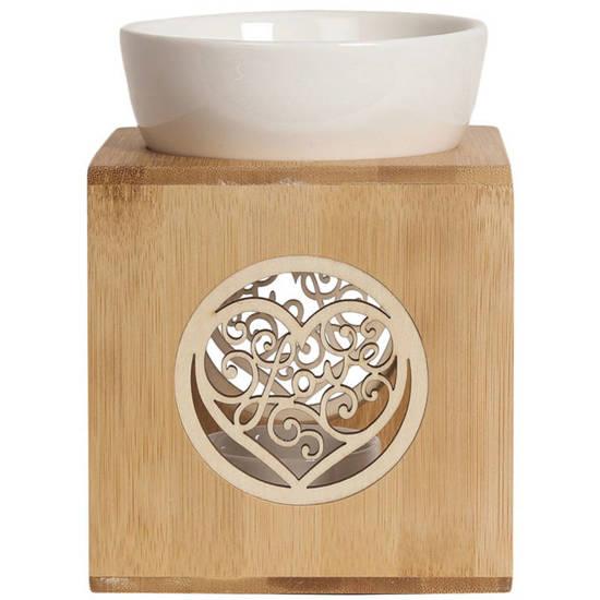 Traditional wax burner - Bambus Love