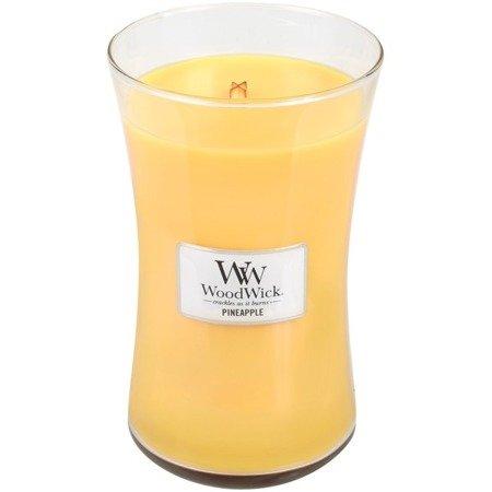 WoodWick Core Large Candle świeca zapachowa sojowa w szkle ~ 175 h - Pineapple