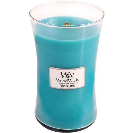 WoodWick Core Large Candle świeca zapachowa sojowa w szkle ~ 175 h - Tropical Oasis