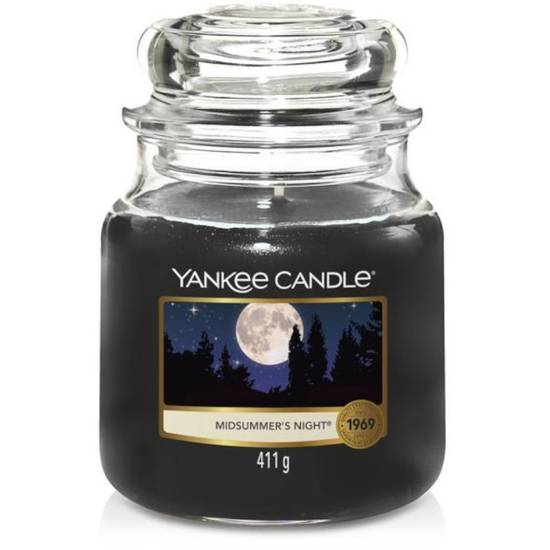 Yankee Candle medium scented candle in a glass jar 14,5 oz 411 g - Midsummer'S Night®