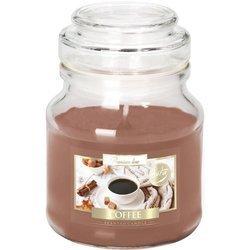 Bispol świeca zapachowa w szklanym słoiku 120 g - Coffee Kawa