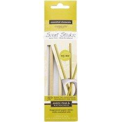 Candle-lite Essential Elements ScentSticks patyczki zapachowe papierowe naturalne z olejkami eterycznymi - Anjou Pear & Watercress