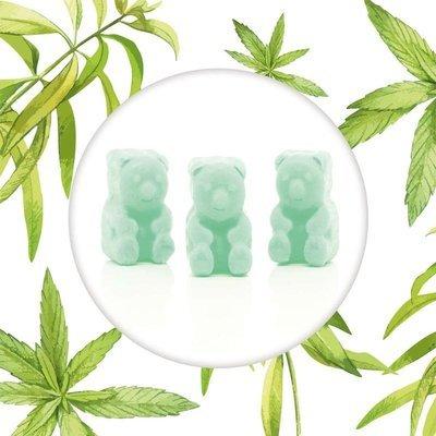 Ted & Friends sojowe woski zapachowe misie 50 g - Verbena Lemon
