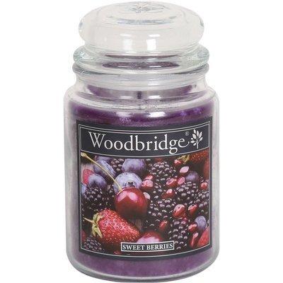 Woodbridge świeca zapachowa w słoju duża 2 knoty 565 g - Sweet Berries