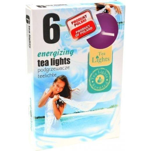 Admit Scented Tealights podgrzewacze zapachowe 6 szt - Energizing