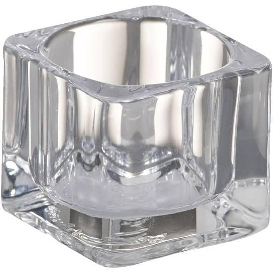 Bolsius świecznik szklany do podgrzewaczy 40/55 mm - Przezroczysty