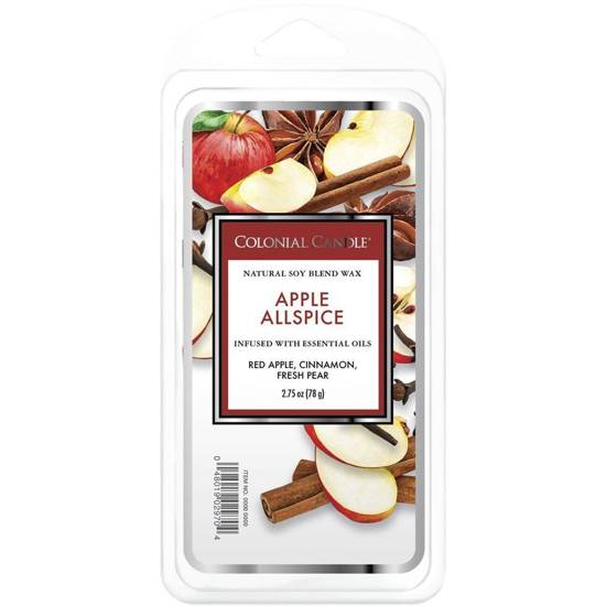 Colonial Candle Classic wosk zapachowy sojowy 2.75 oz 77 g - Apple Allspice