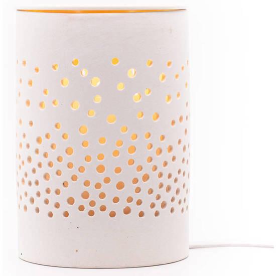 Elektryczny kominek do wosków zapachowych - Dots