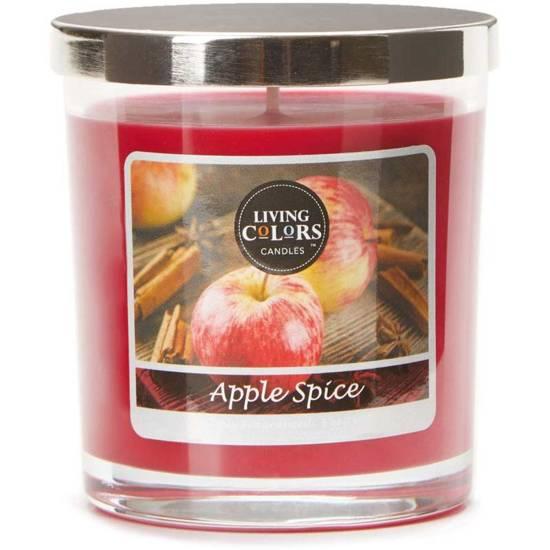 Living Colors Candles WM świeca zapachowa 5 oz 141 g - Apple Spice