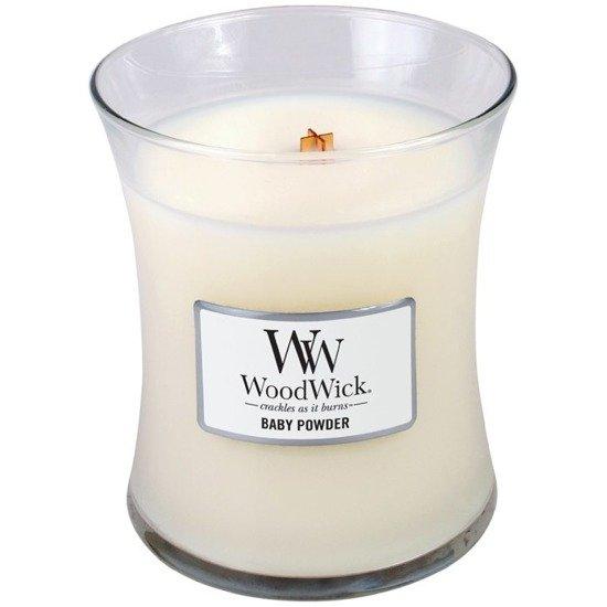 WoodWick Core Small Candle świeca zapachowa sojowa w szkle ~ 40 h - Baby Powder