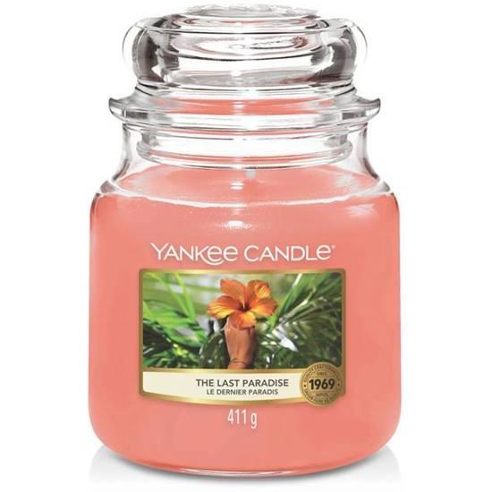 Yankee Candle średnia świeca zapachowa w szklanym słoju 14,5 oz 411 g - The Last Paradise